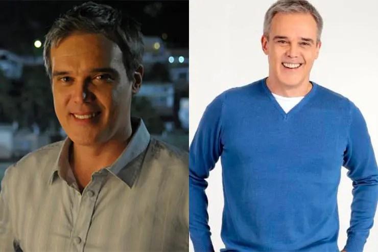 Que ano passou Fina Estampa? Dalton Vigh (Fotos: TV Globo/Renato Rocha Miranda e Lourival Ribeiro/SBT)