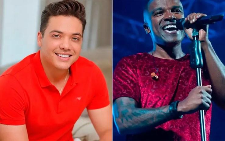 Lives da semana de 13 de abril: Wesley Safadão e Alexandre Pires (Fotos: Reprodução/Instagram)