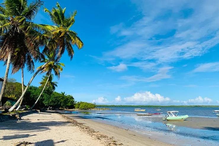 Cova da Onça é a para para o almoço na Volta à Ilha em Boipeba (Foto: Esse Mundo é Nosso)