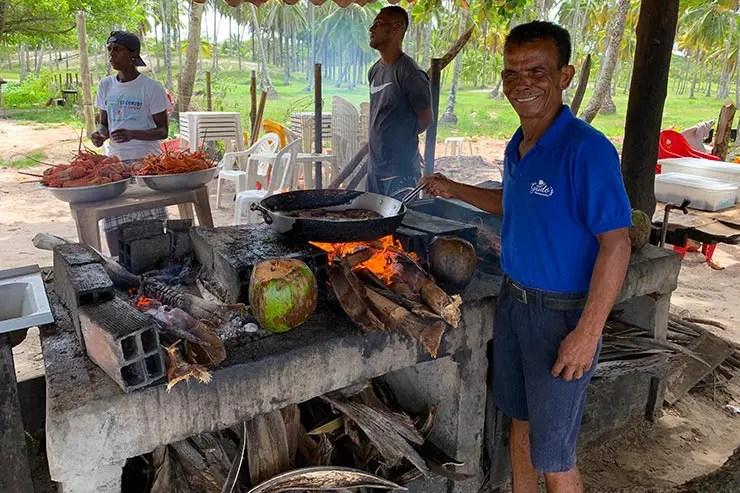 Guido's em Boipeba, na Bahia (Foto: Esse Mundo é Nosso)