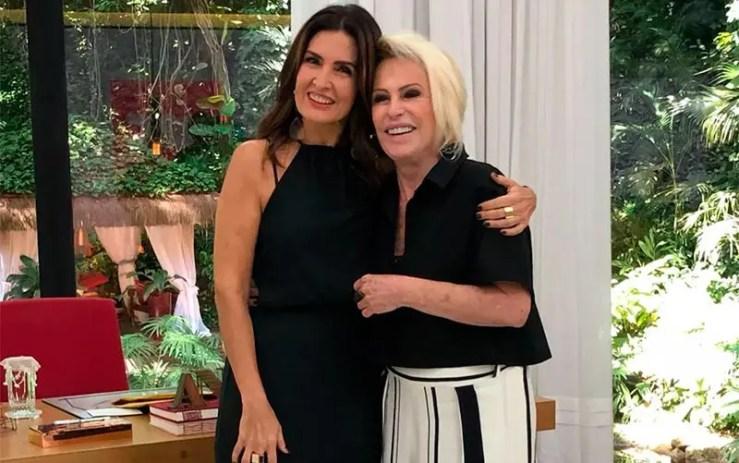 Ana Maria Braga volta ao ar dentro do Encontro (Foto: Divulgação/TV Globo)