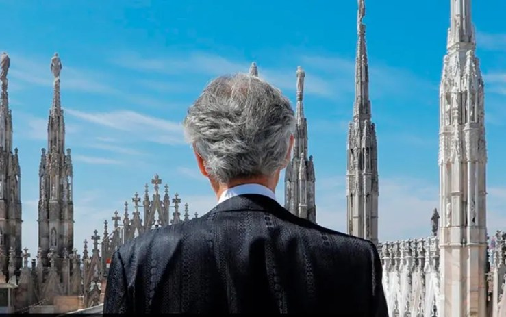 Assista agora ao vivo à live de Andrea Bocelli (Foto: Esse Mundo é Nosso)