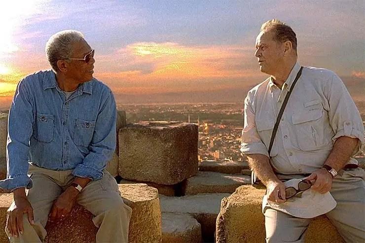 Morgan Freeman e Jack Nicholson em Antes de Partir (Foto: Divulgação)
