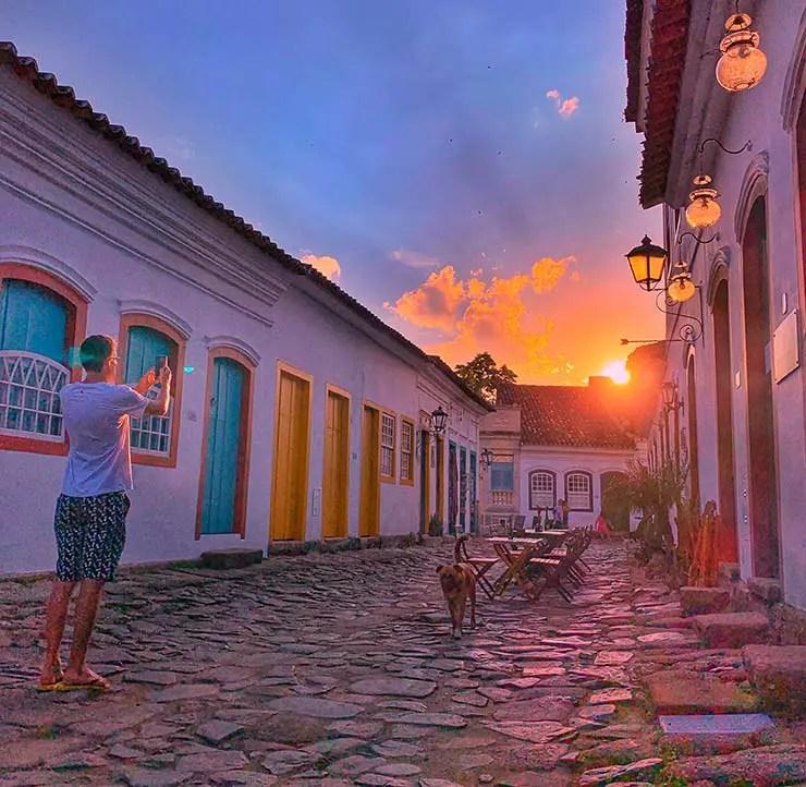 Fim de tarde no Centro Histórico (Foto: Esse Mundo É Nosso)