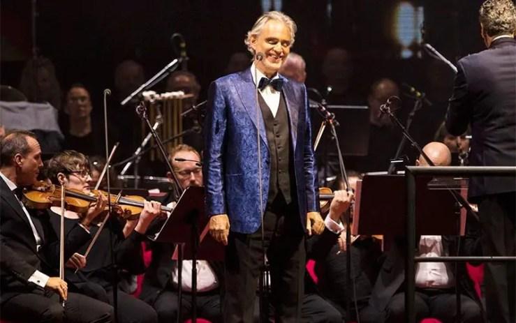 Live de Andrea Bocelli em Milão: Como assistir (Foto: Reprodução/Instagram Andrea Bocelli)