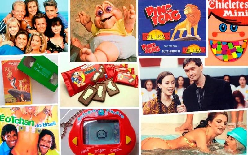 Anos 90: Só quem marcar mais de 30 itens desta lista, viveu a década de verdade (Foto: Montagem)