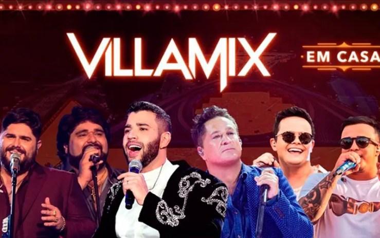 Live Villa Mix em Casa: Assista agora ao vivo (Foto: Reprodução/YouTube)