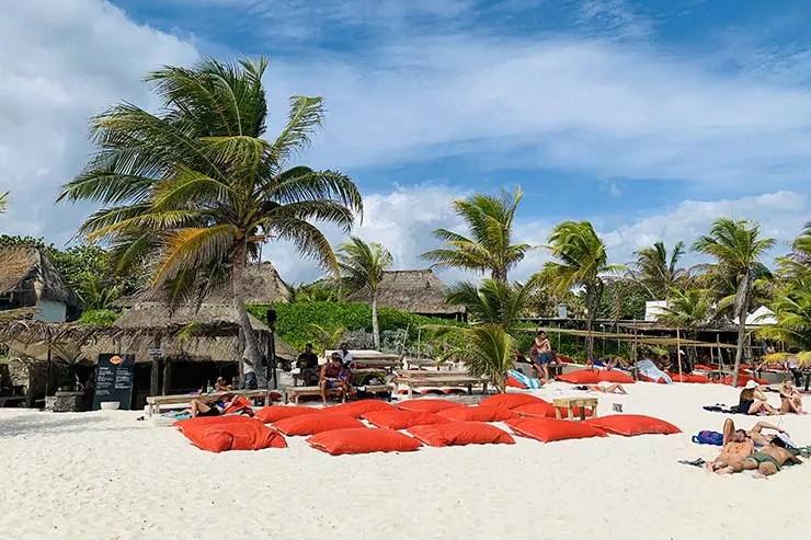 Pucna Beach Club em Tulum (Foto: Esse Mundo É Nosso)