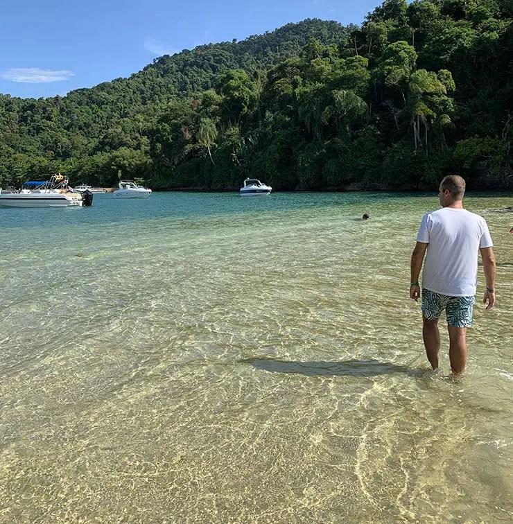 Melhores praias de Angra dos Reis - Ponta da Piedade (Foto: Esse Mundo É Nosso)