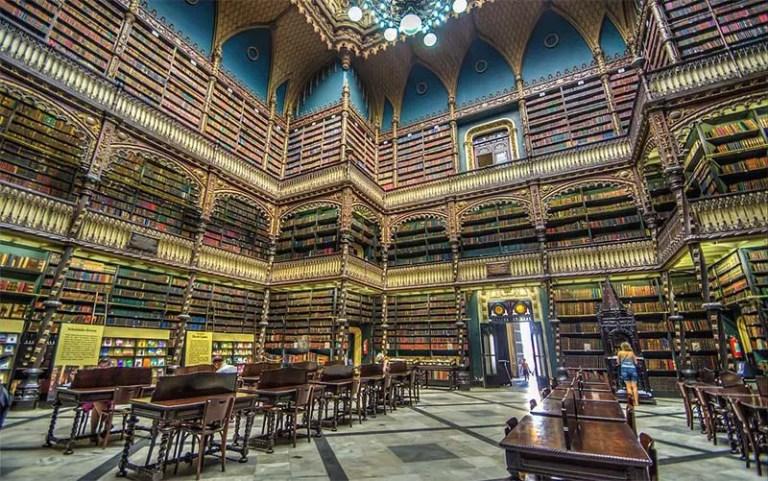 Real Gabinete Português de Leitura (Foto: Mayumi Ishikawa CC BY-SA 2.0)