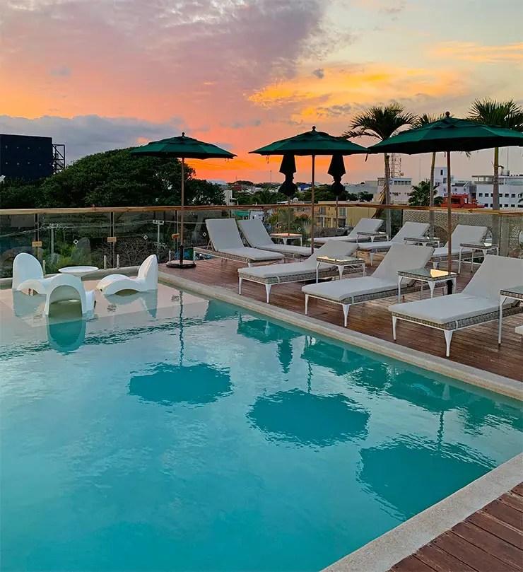 Hotel Antera em Playa del Carmen (Foto: Esse Mundo é Nosso)