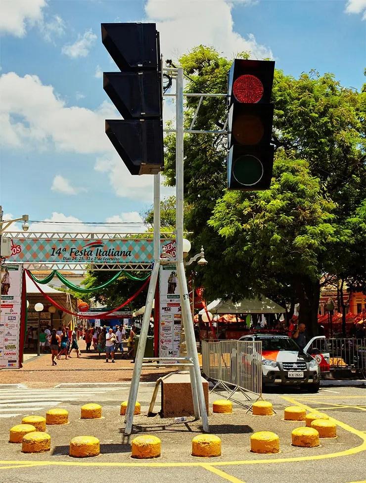 Dica de viagem em família: Semáforo de Itu (Foto: Secretaria de Turismo de SP/Ken Chu - Expressão Studio)