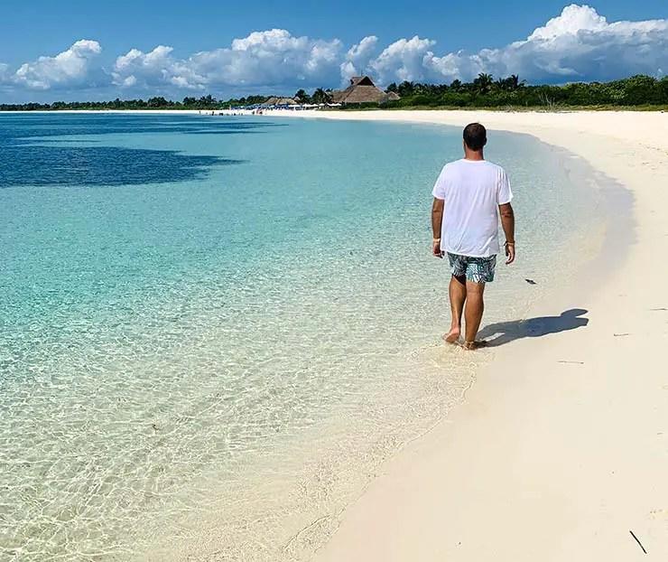 Playa Chunchacab é a melhor das praias de Cozumel