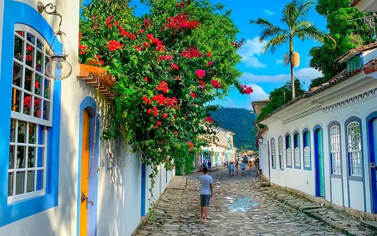 Pousadas em Paraty: Centro histórico na cidade (Foto: Esse Mundo é Nosso)