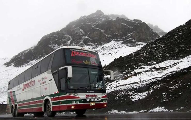 Expreso Ormeño faz a maior viagem de ônbus do mundo saindo de SP (Foto: Divugalção)