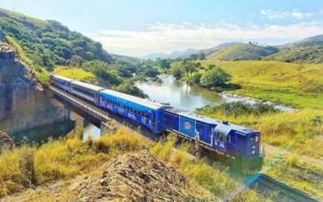 Trem turístico entre Rio e Minas (Divulgação / Amigos do Trem)