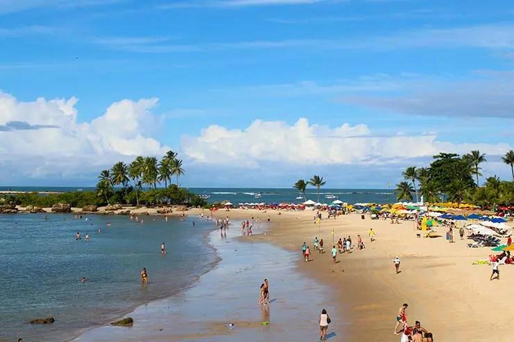 Segunda praia: Quando ir pra Moro de São Paulo