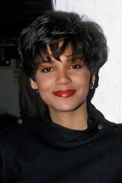Image result for halle berry short hair