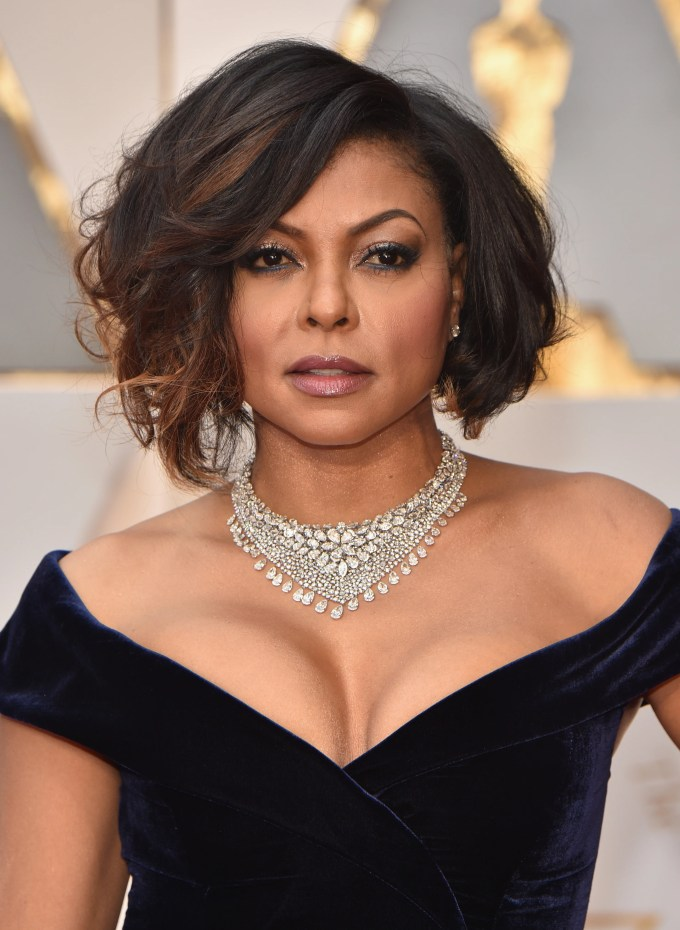 oscars 2017 taraji p. henson beauty look - essence