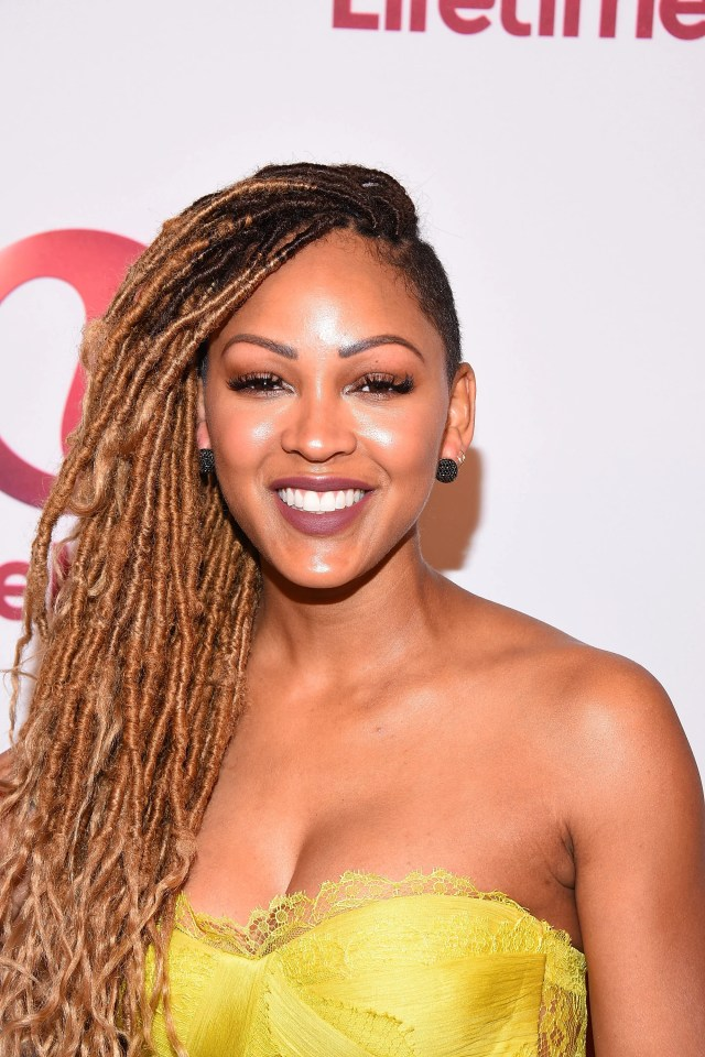 meagan good says goodbye to her bowlcut - essence