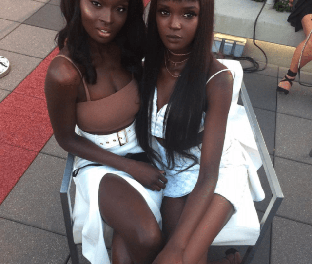 Model Duckie Thot And Her Sister Nikki Perkins Are The Dynamic Sister Duo You Need To Know