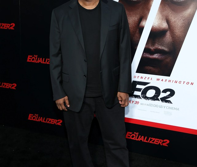 Denzel Washington And A Slew Of Celebrities Attend The The Equalizer  Premiere