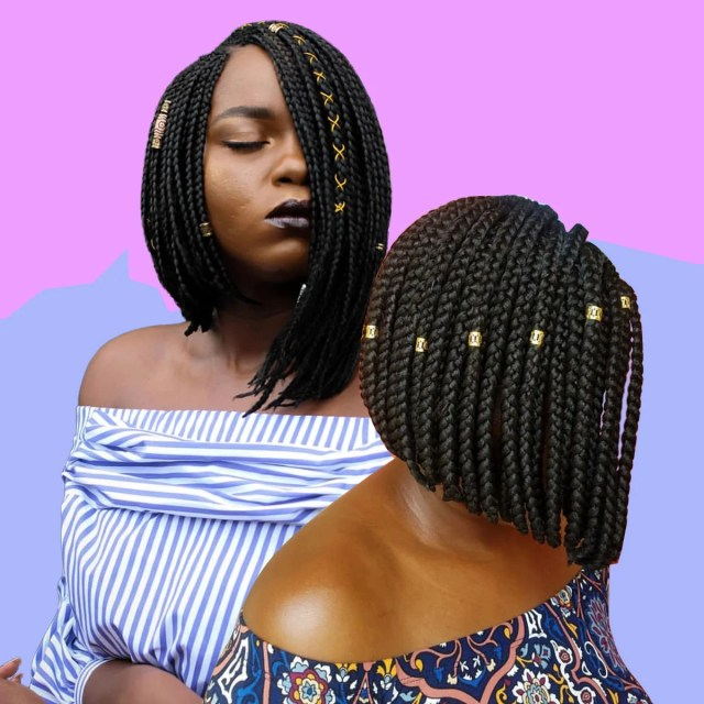 17 beautiful braided bobs from instagram you need to give a try
