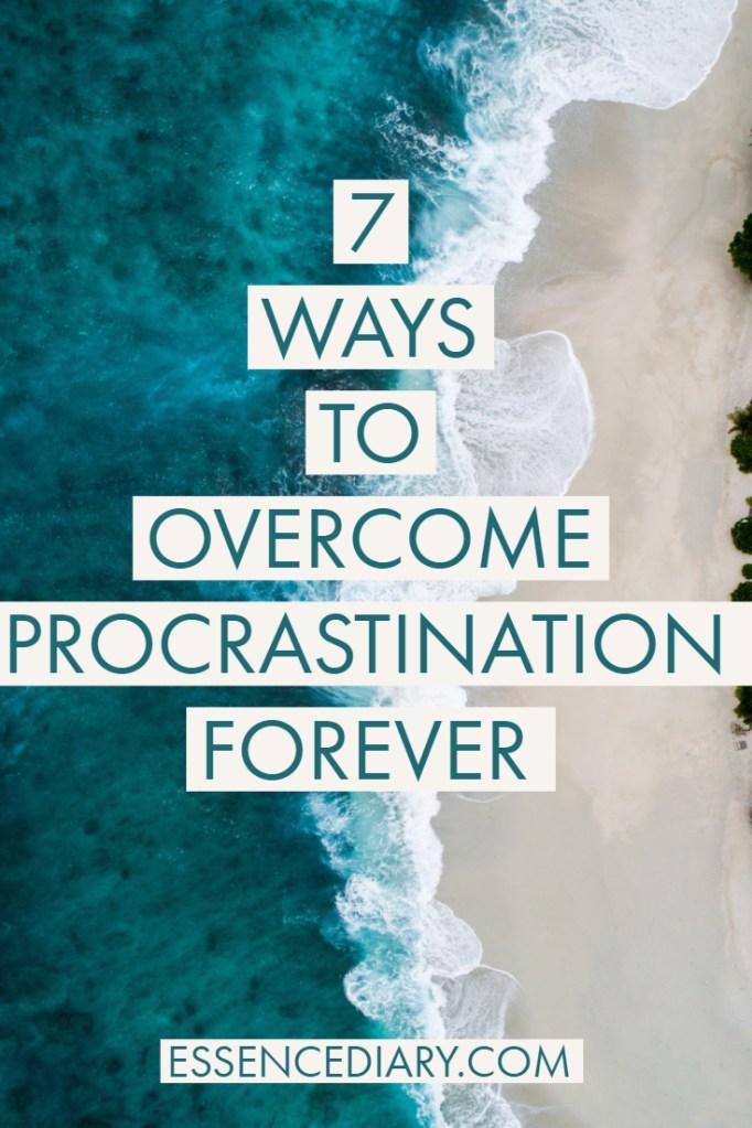 ways to overcome procrastination