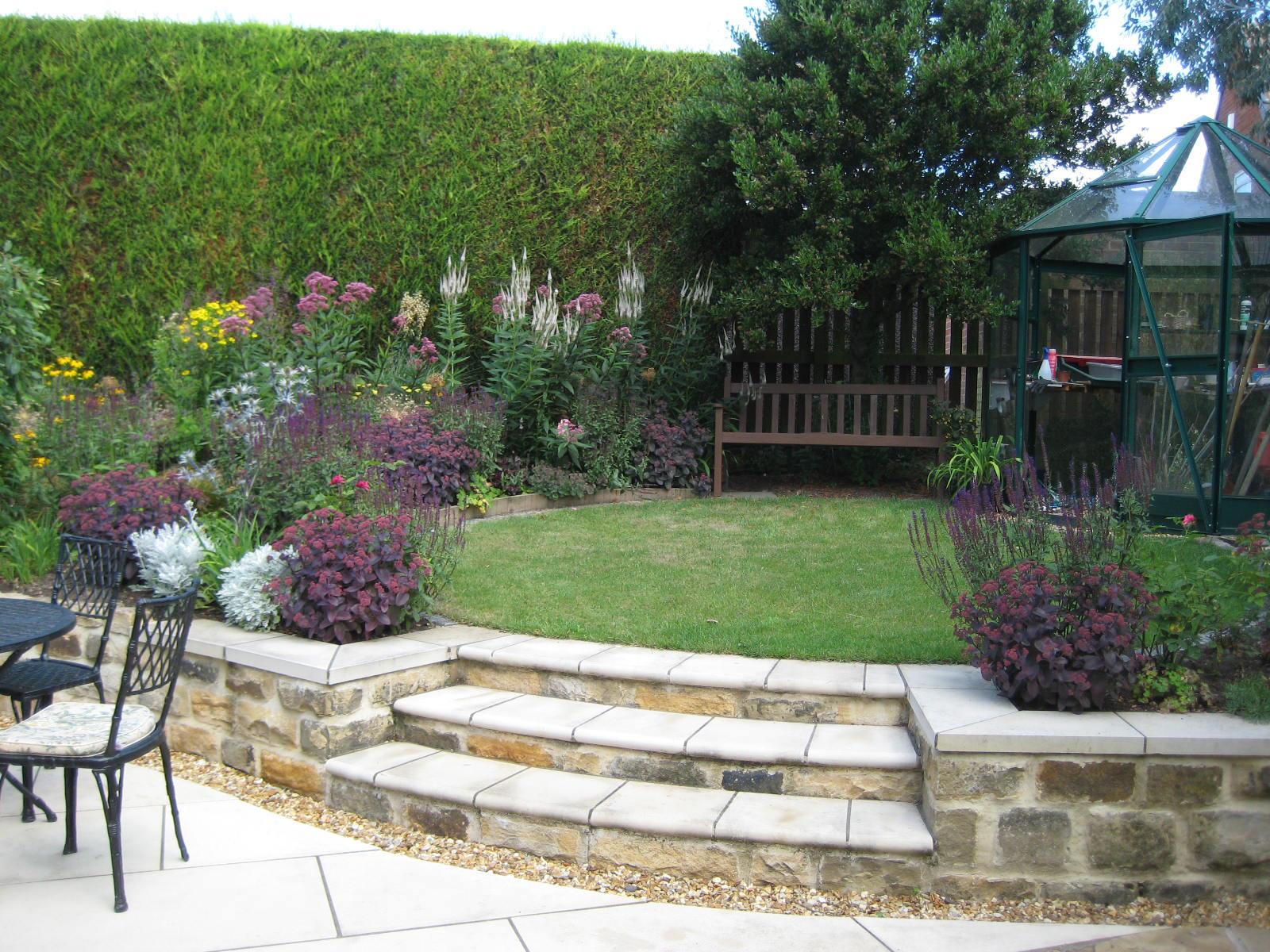 Back Garden Design, Alwoodley, Leeds - Leeds Garden Designer on Back Garden Ideas id=89348