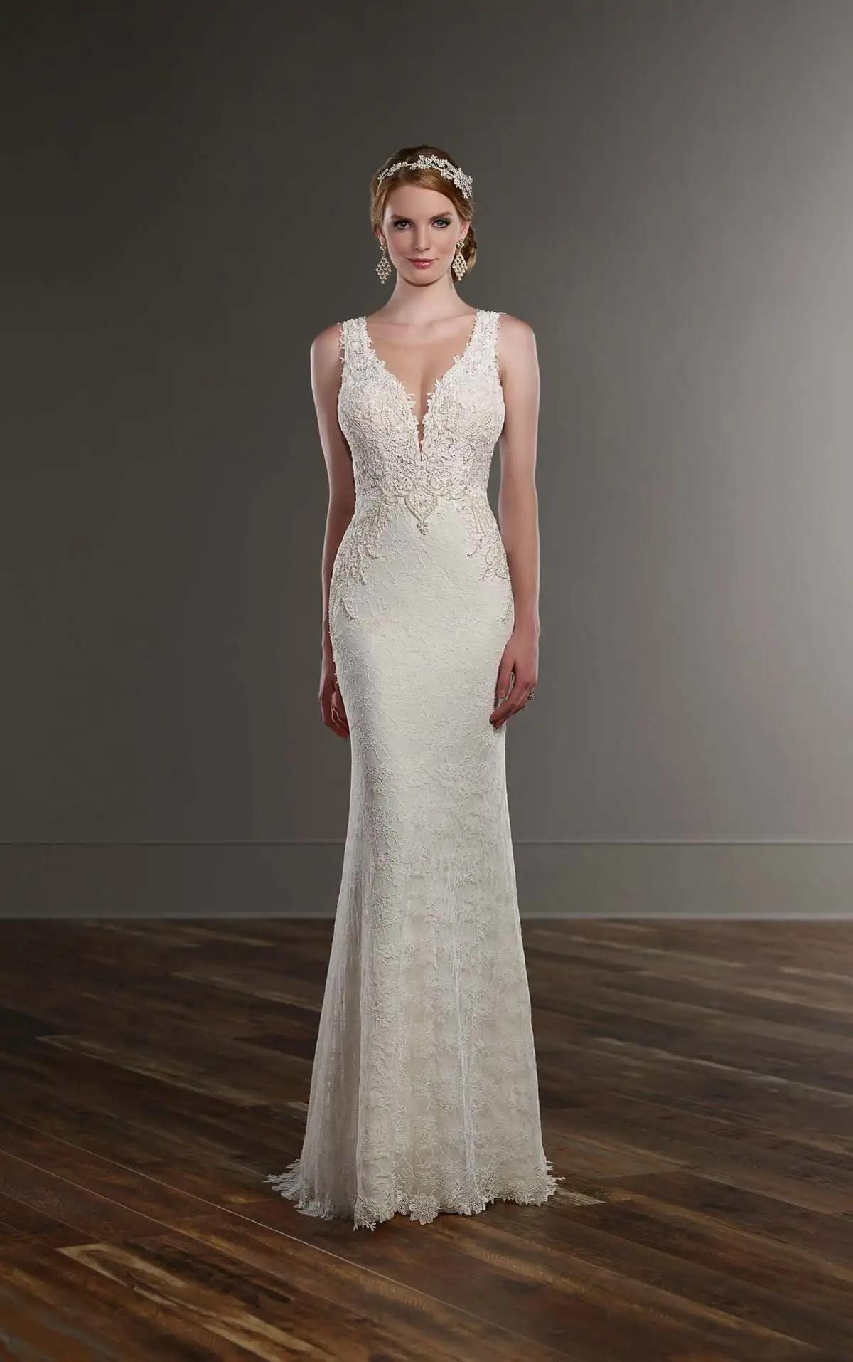 Sleek Wedding Gown Martina Liana Wedding Dresses