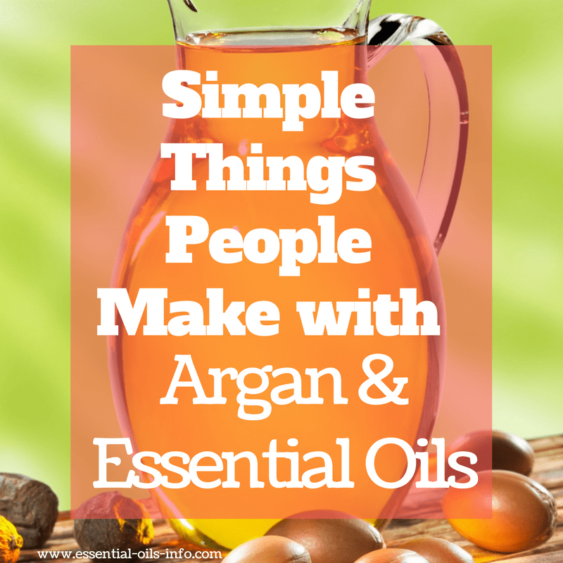 argan oil recipes
