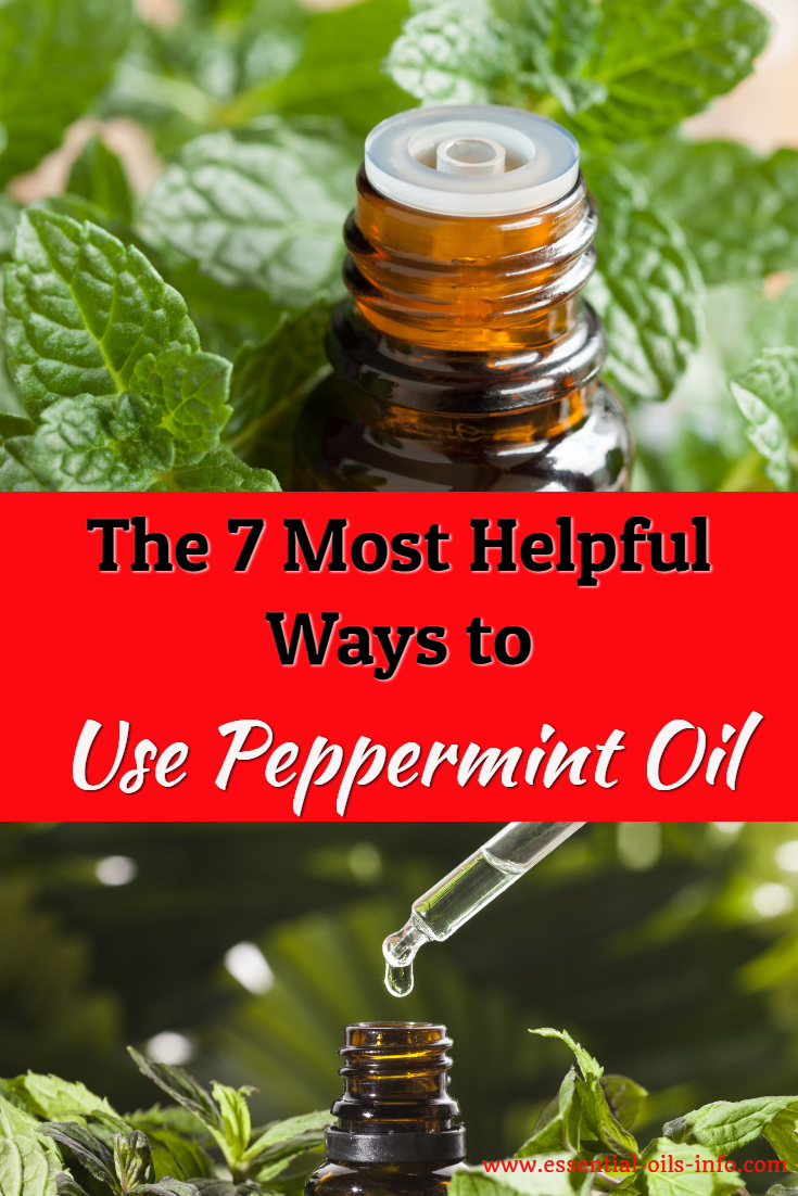 Find out the 7 most helpful ways to use peppermint oil. Use essential oils effectively and successfully.