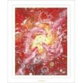 赤の龍神:ヒーリングアート画像
