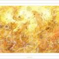 黄の龍神:ヒーリングアート画像