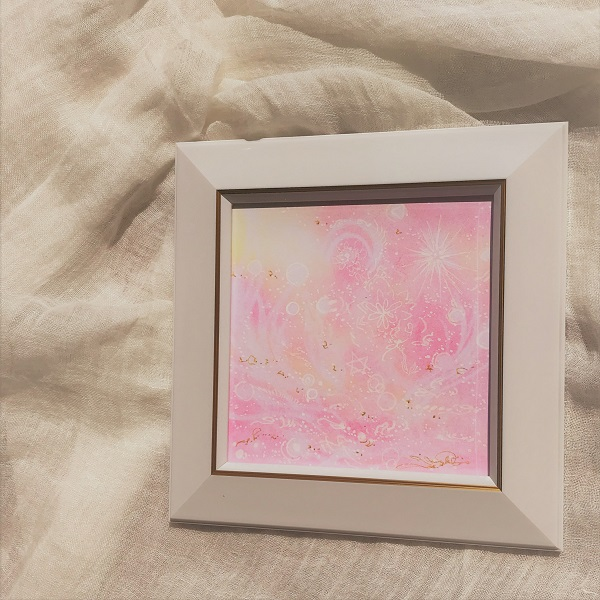 萌える愛のヒカリ・パステルアートの画像