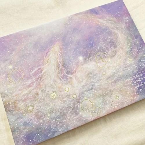 紫色白龍神