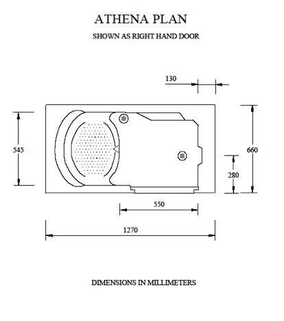 Athena Walk In Bath Technical