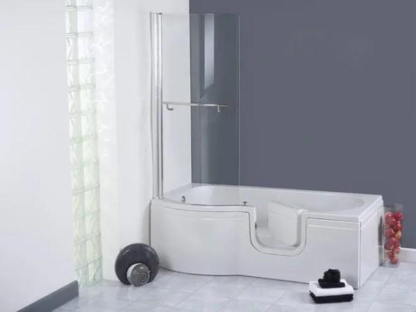 The Calypso Walk In Shower Bath Main