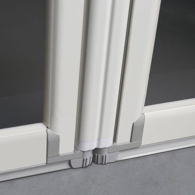 360 hinges allows for full movement in and out.