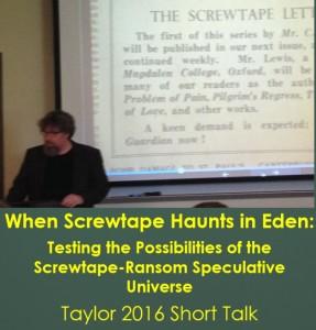 Screwtape Haunts Eden (Brenton Taylor 2016)