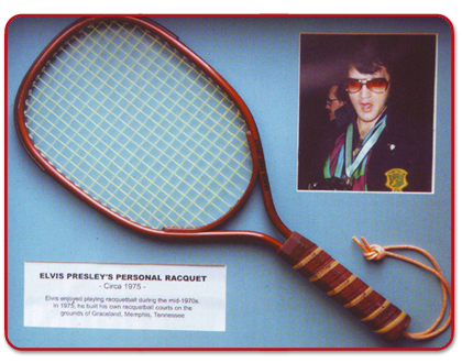 Image result for elvis presley and racquetball