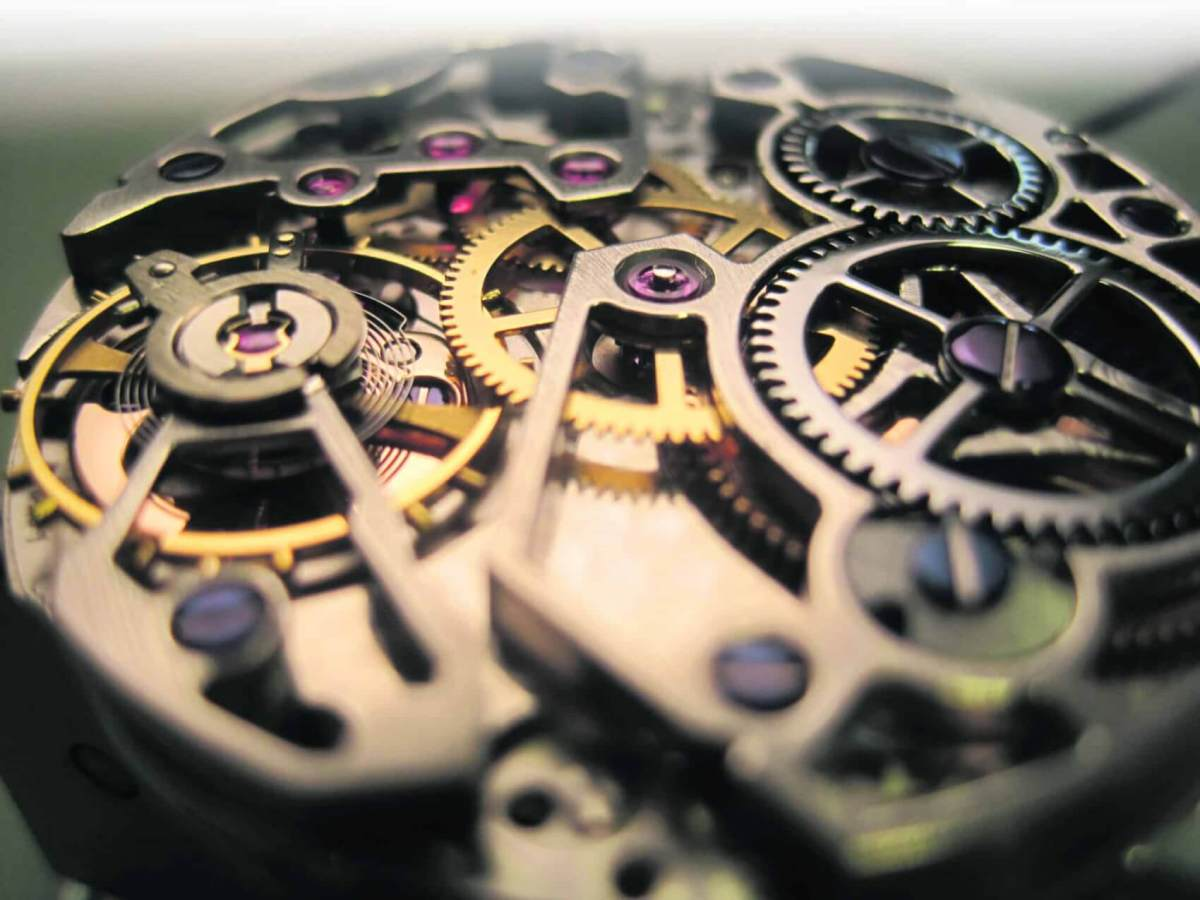 THE BRITISH SCHOOL OF WATCHMAKING