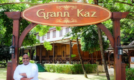 Vibrant creole menu at historic Grann Kaz restaurant