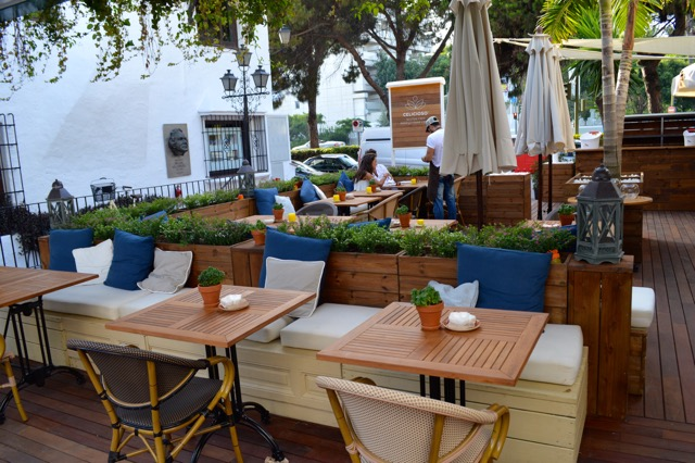 Outdoor Terrace