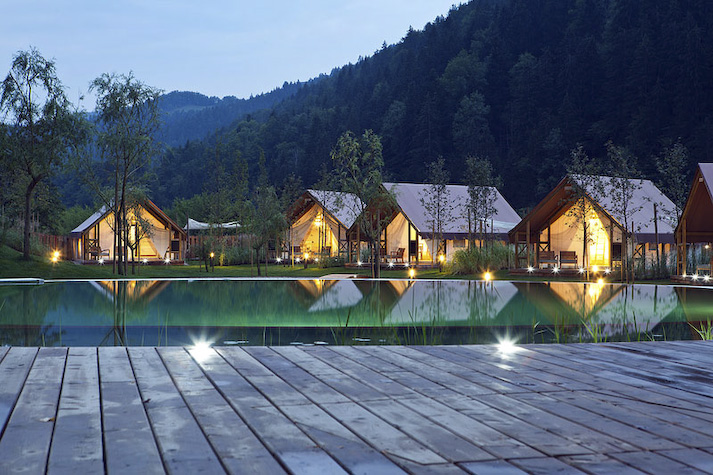 One Off Placeslaunches luxury glamping sitein rural Slovenia