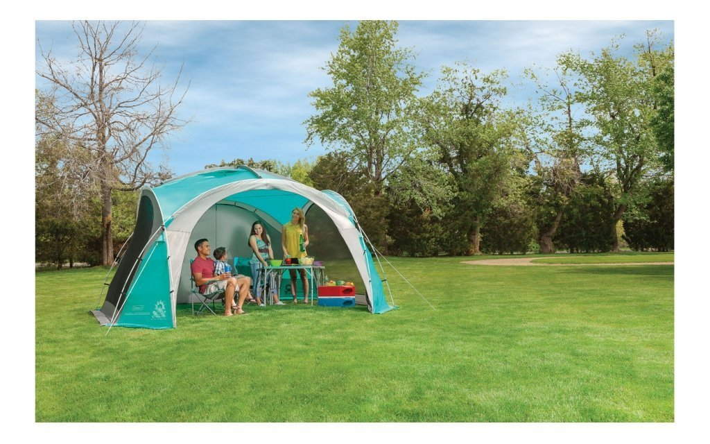 Coleman's Event Dome is perfect for outdoor life
