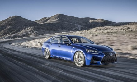 Lexus almost whisks the EJ motorist into hyperspace with its GS F