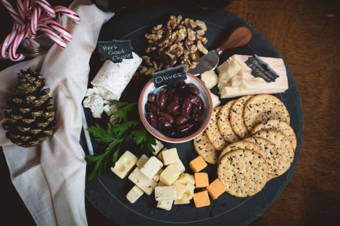Holiday Centerpiece Cheese