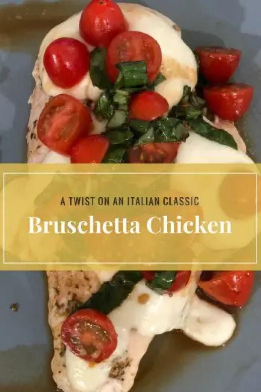 Bruschetta Chicken Title