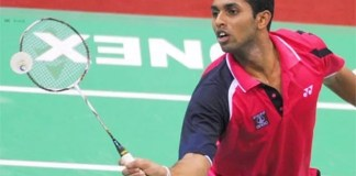 Youngster Prannoy wins Gold